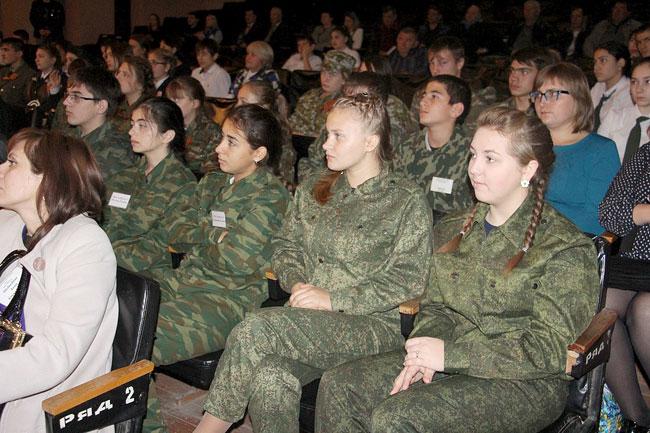 Юные участники форума