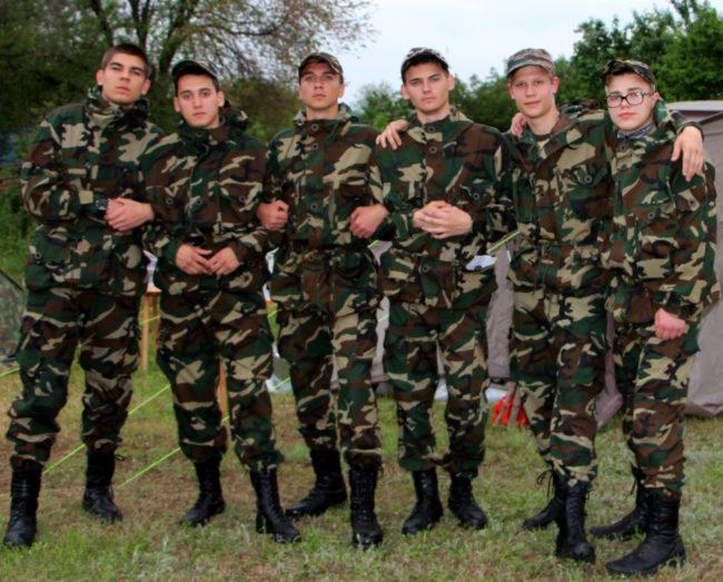 Юные поисковики села Дивное