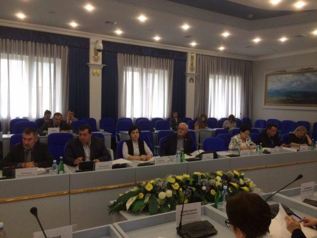 Заседание рабочей группы Думы Ставропольского края