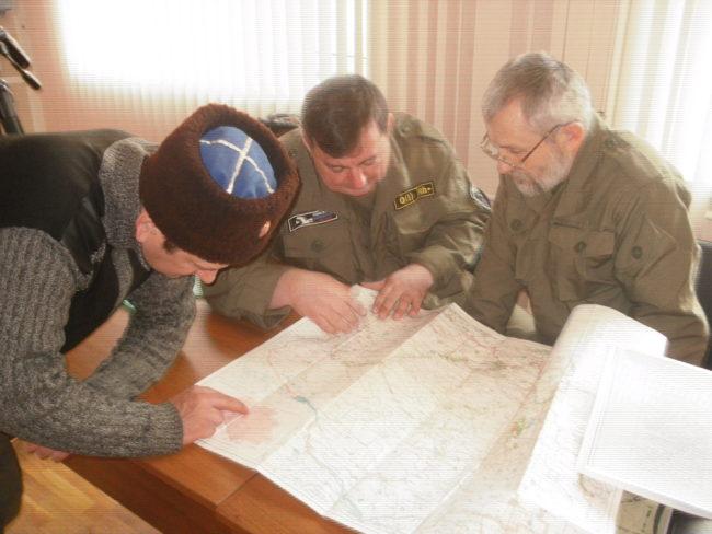 Подготовка к конной военно-исторической экспедиции