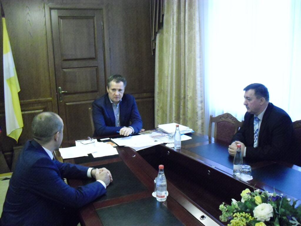Встреча в Правительстве Ставропольского края