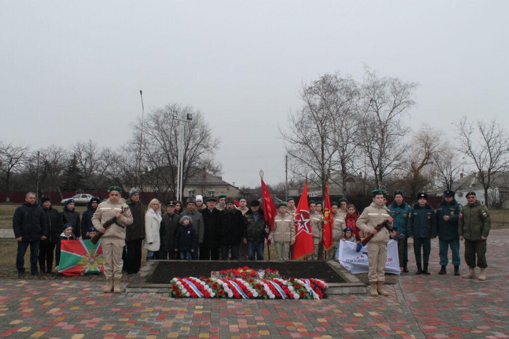 Митинг, посвященный дню снятия блокады