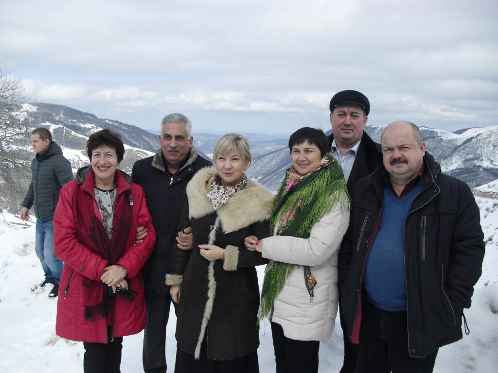 Делегация поисковиков Ставропольского края