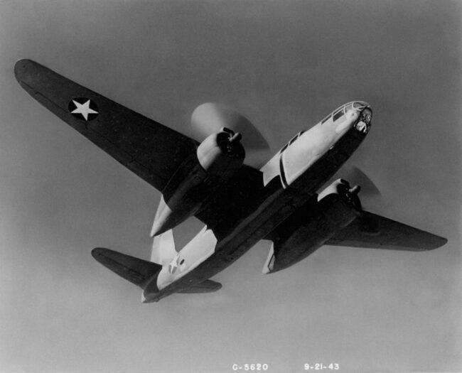 Самолет Б-20А «Бостон III»