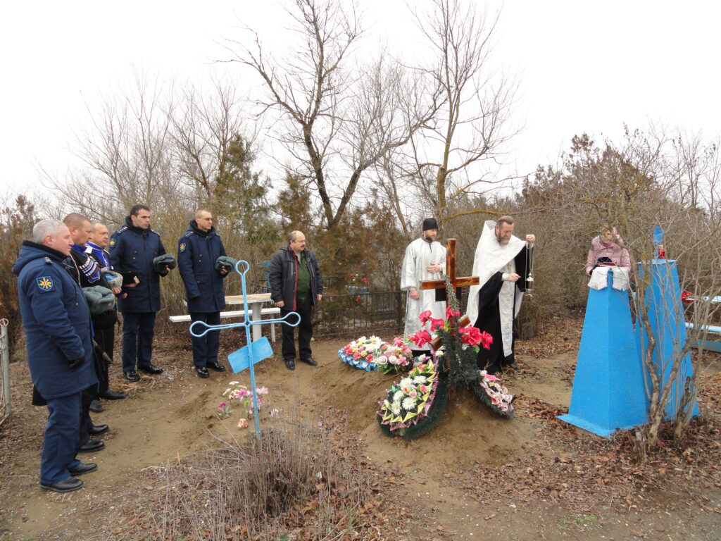 литургия по погибшим летчикам