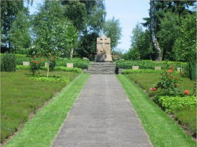 Мемориал на братских могилах Рурберг, где похоронен Калугин Дмитрий Федорович