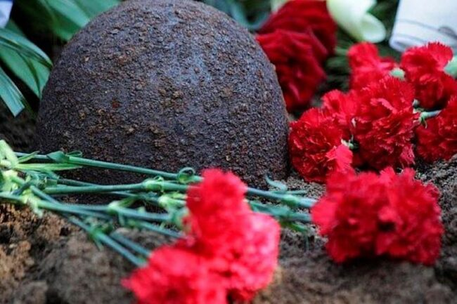 Найдены родственники погибшего солдата