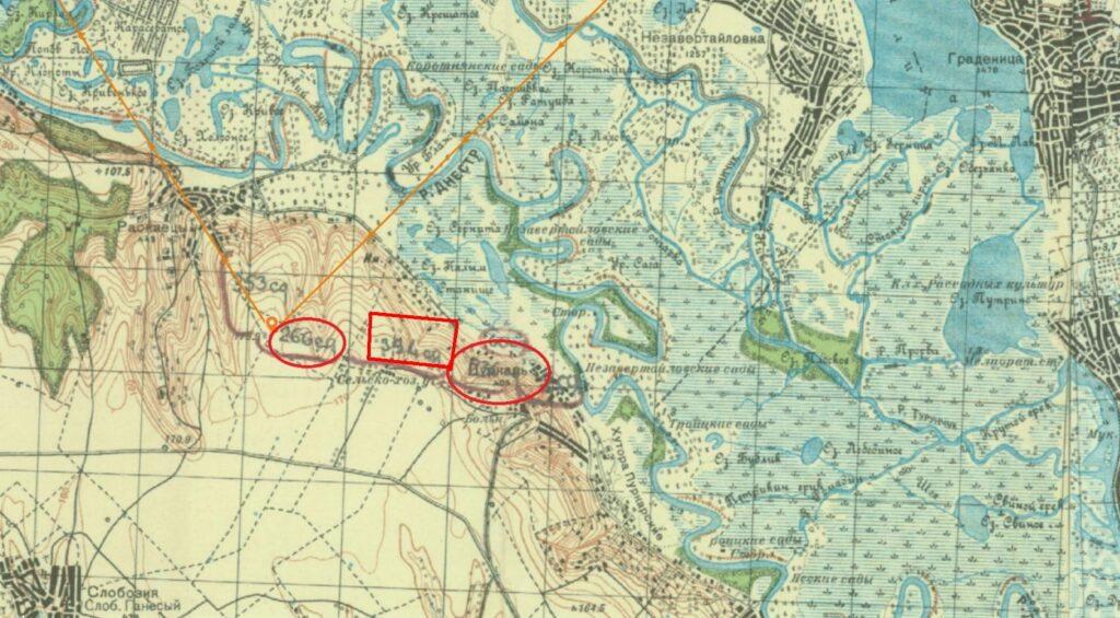 с. Пуркары на карте
