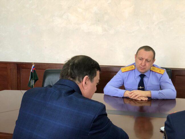 Руководитель СК по Ставропольскому краю И.Н. Иванов