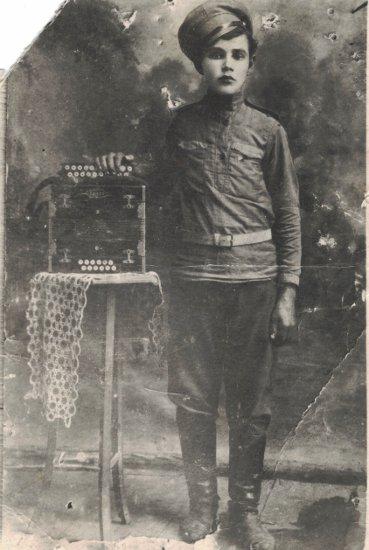 Тимофей Миронович в молодости