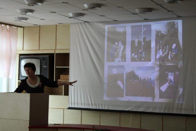 Выступление участника конференции