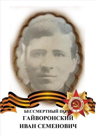 Гайворонский Иван Семенович фото