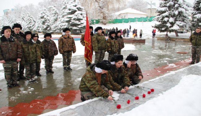 День Неизвестного солдата в г. Михайловске