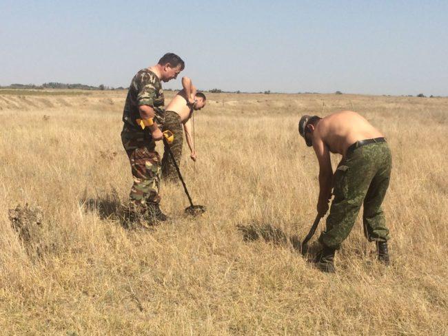 Разведывательная поисковая экспедиция в Степновском районе
