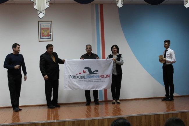 Военно-патриотический форум  в с. Эдиссия Курского района