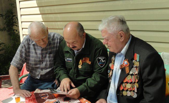 Встреча ветеранов 123-го погранполка