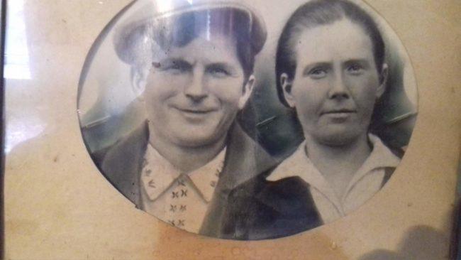 Борзых Егор Артемович и Мария Васильевна.