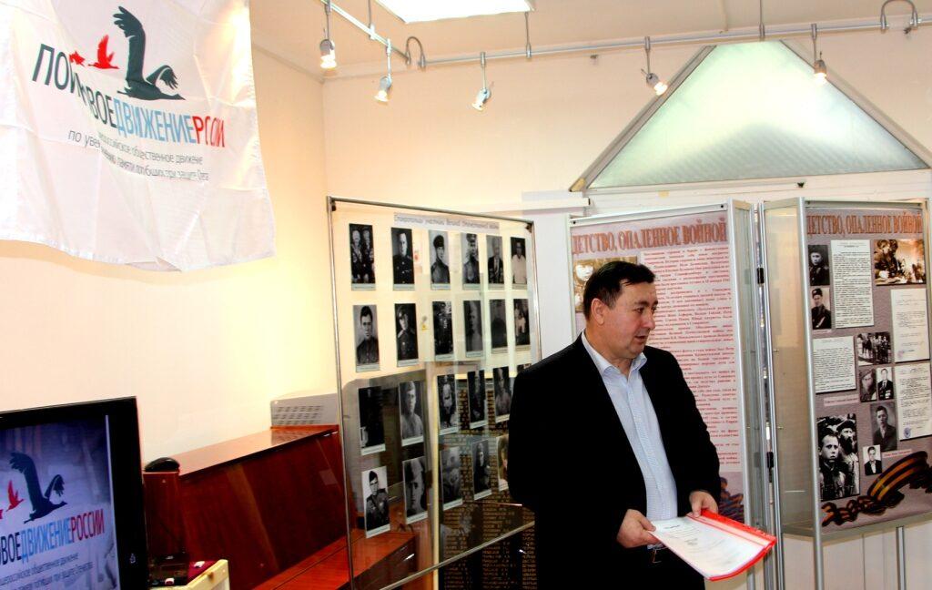 Вручение документов родственникам погибших солдат