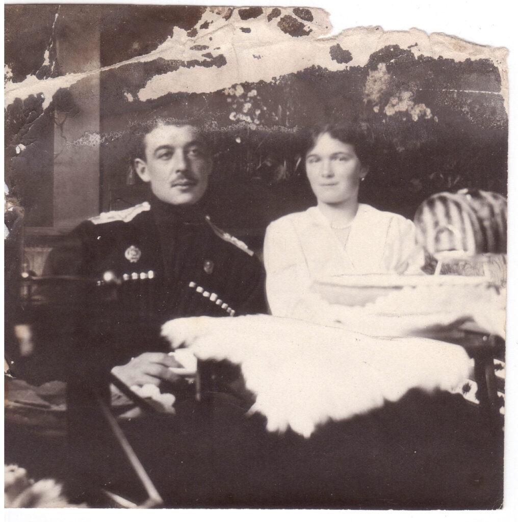 Шведов с Цесаревной Ольгой