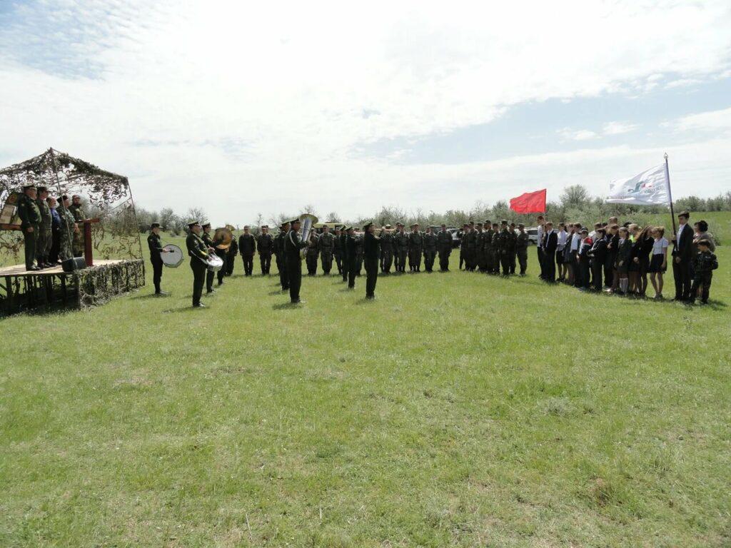 Открытие Вахты Памяти