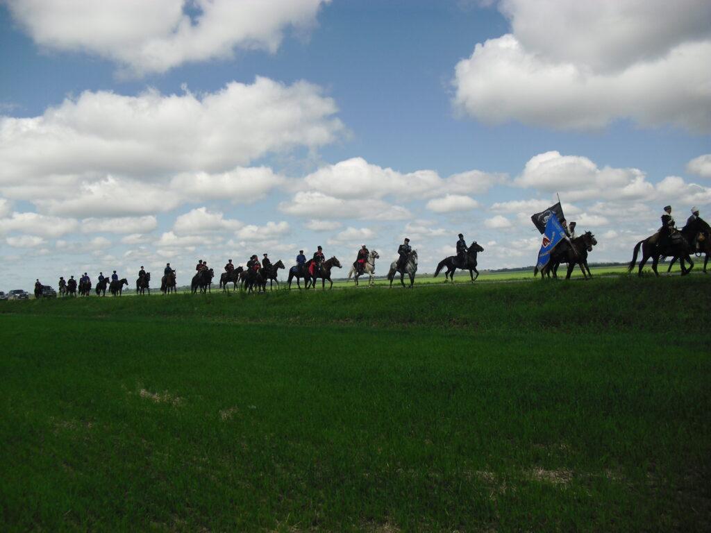 конная военно-историческая экспедиция