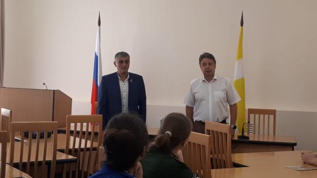 Выступление заместителя главы МГО Мельникова О.А.