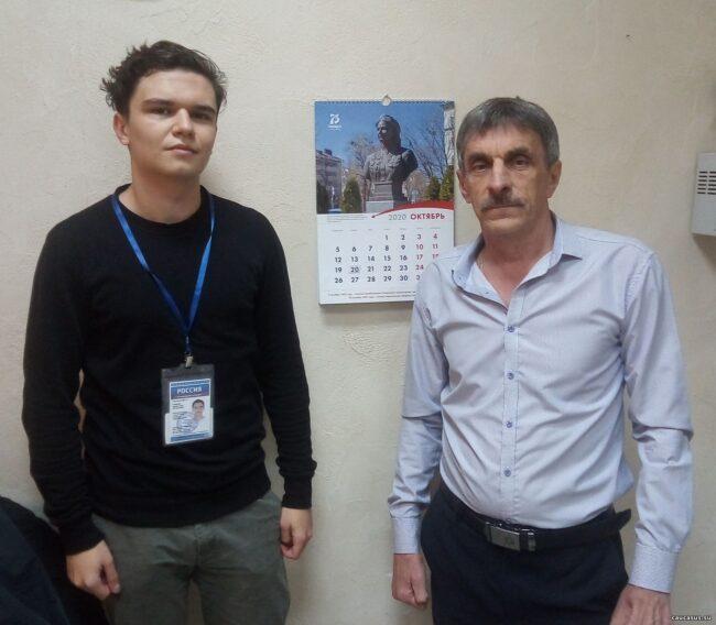 Активисты поискового движения на РадиоРоссии-Ставрополь