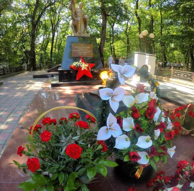 Воинский мемориал в г. Железноводск