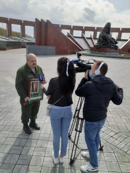 Представитель Ставропольских поисковиков