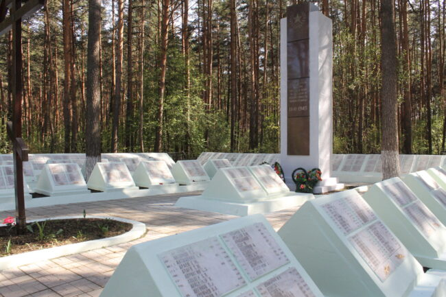 воинский участок кладбища Бобачевский Бор